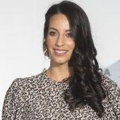 Almudena Cid en la presentación de 'El secreto de Puente Viejo' en el FesTVal de Vitoria
