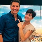 Jaime Cantizano y Sara Escudero