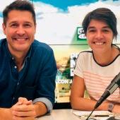 Jaime Cantizano y Judith González Ferrán