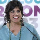 Teresa Rodríguez quiere devolver los 8.640 euros cobrados en dietas del Parlamento durante su permiso por maternidad