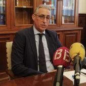 El presidente de la Audiencia Provincial de Palma, Diego Gómez-Reino, en sede judicial.