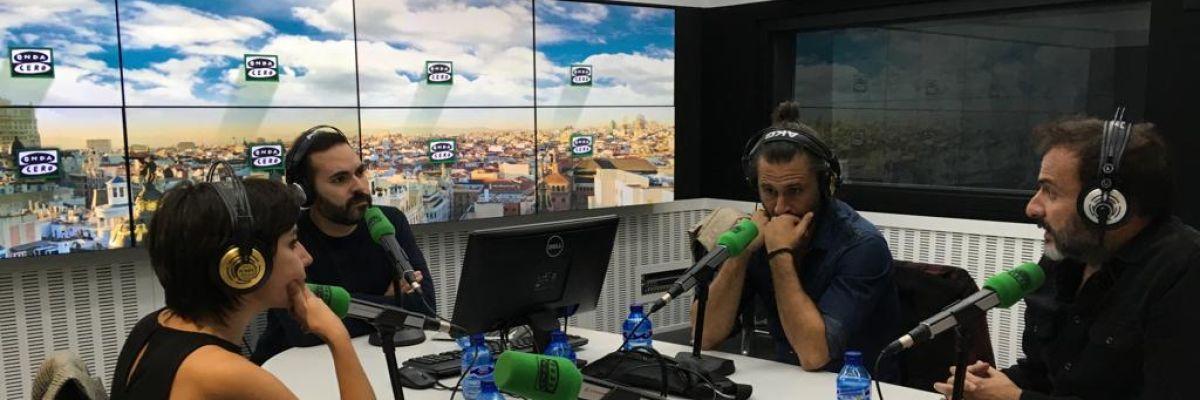 """Hugo Silva y Marián Álvarez nos presentan 'Sordo', su nueva película: """"En mi casa se veían muchos western"""""""