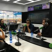 Hugo Silva, Marian Álvarez y Alfonso Cortés-Cavanillas presentan la película 'Sordo' en Kinótico