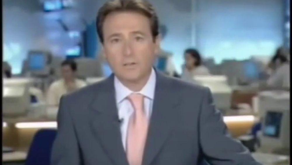 Así contó Matías Prats en directo los atentados del 11-S en Antena 3 Noticias