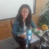 Nieves Peinado, portavoz de Unidas Podemos en el Ayuntamiento de Ciudad Real