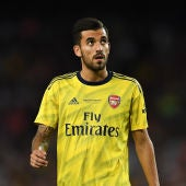 Dani Ceballos, con el Arsenal