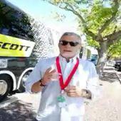 """Javier Ares: """"Entramos en el momento culminante de La Vuelta y estamos disfrutando más de lo esperado"""""""