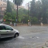 Imagen de archivo de una tormenta caída en Palma