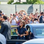 La reina Letizia en Elche.