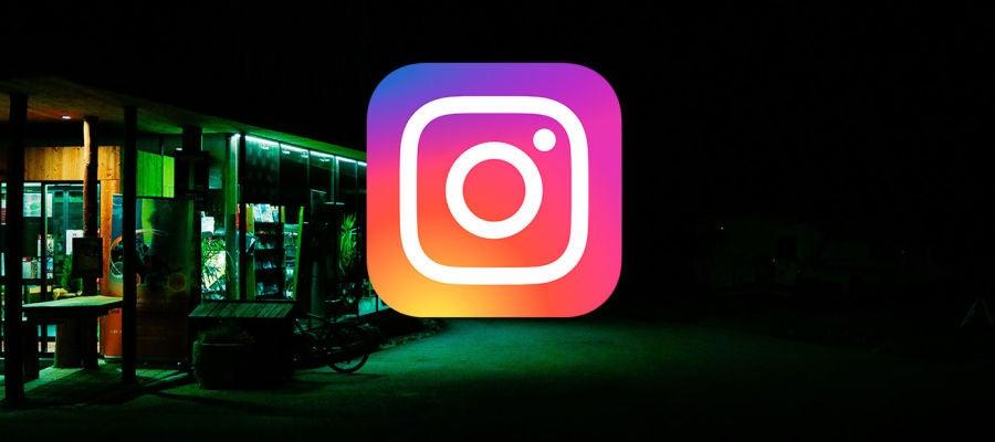 Modo oscuro Instagram
