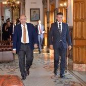 Sebastián Pérez y Luis Salvador