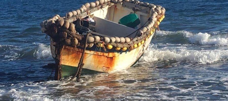 Imagen de archivo de una patera llegada a las costas de Mallorca