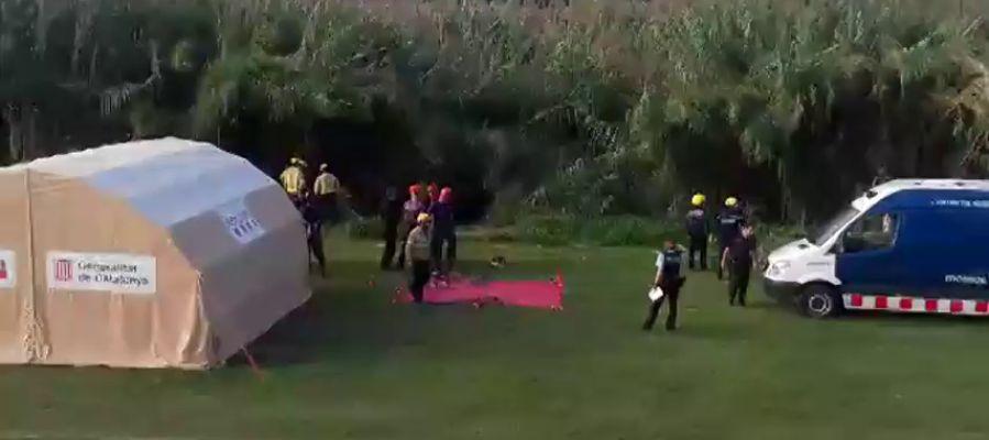 Se reanuda la búsqueda del bebé arrojado por su padre al río Besòs