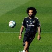 Marcelo, en un entrenamiento
