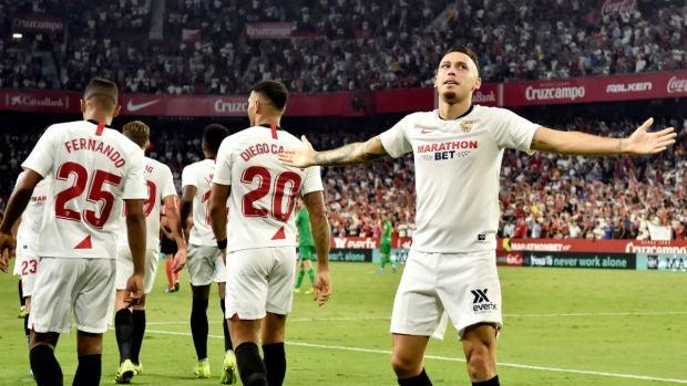 """Lucas Ocampos: """"Poder ganar de visitante un derbi siempre te deja un 'saborcito' mejor"""""""