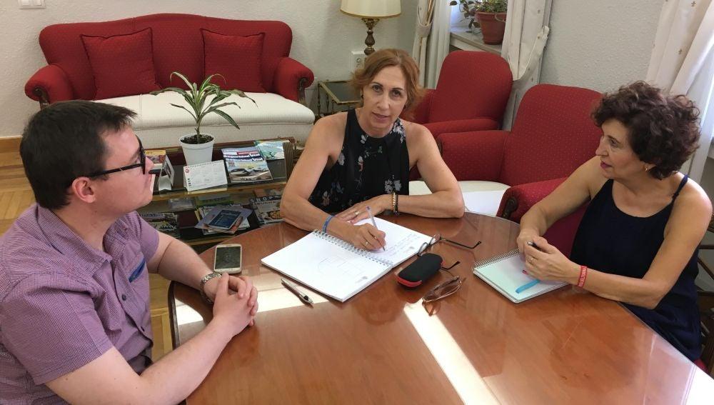 Reunion entre Herreros y Arriaga