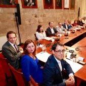 Reunión con agentes económicos y sociales en el Consolat de Mar