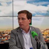 José Luis Martínez-Almeida, alcalde de Madrid, en Onda Cero