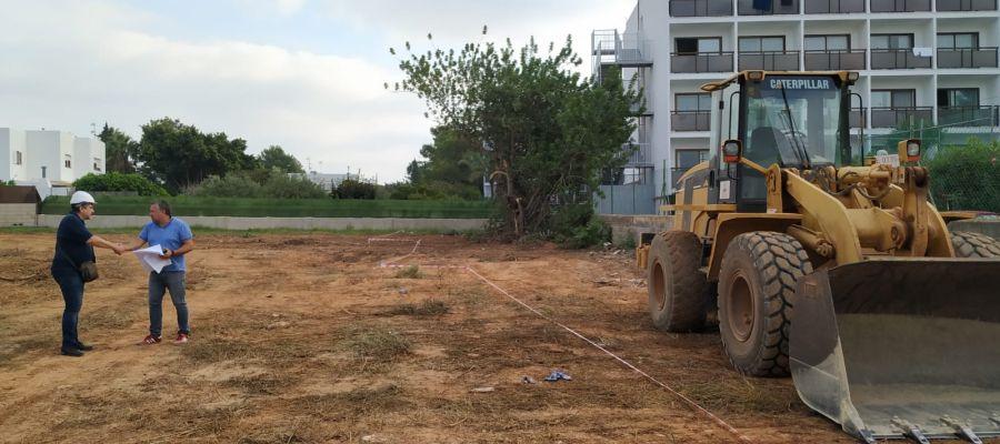 Construcción de una promoción de viviendas de protección oficial en Palma