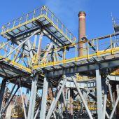 Instalaciones de Arcelor en Asturias
