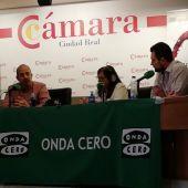 """""""Más de Uno Ciudad Real"""" se ha emitido en directo desde la Cámara de Comercio"""