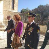 La Policía Nacional de Ciudad Real ha festejado hoy su patrón, los Santos Ángeles Custodios