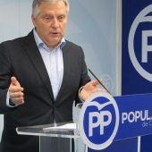 Francisco Cañizares, portavoz el PP en el Ayuntamiento de Ciudad Real