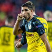 El lateral del Dortmund, Achraf.