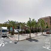 Parcela de la Avenida de Novelda en la que PSOE y Compromís quieren el nuevo centro de congresos de Elche.