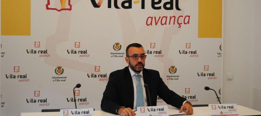 L'alcalde de Vila-real, José Benlloch.