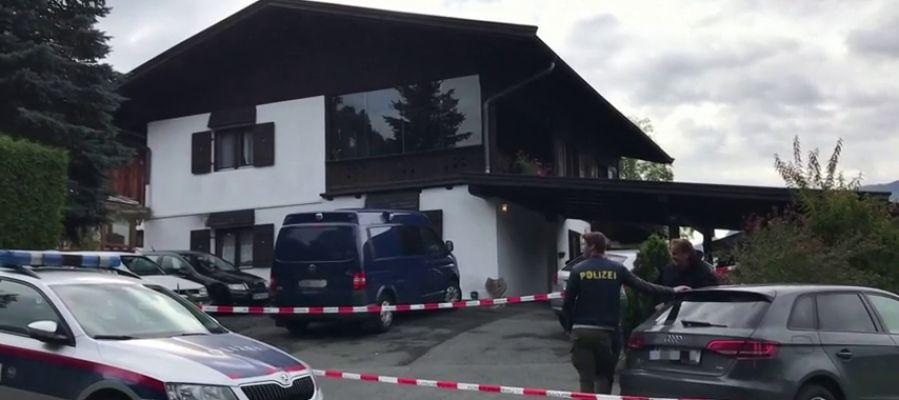Lugar del crimen machista múltiple en Austria