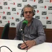 José Crespo, durante la entrevista en Onda Cero Ciudad Real