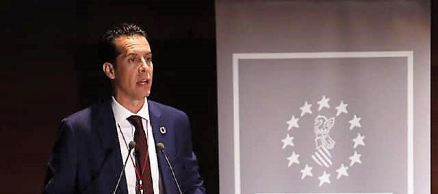 Rubén Alfaro, alcalde de Elda y presidente de la Federación Valenciana de Municipios y Provincias.