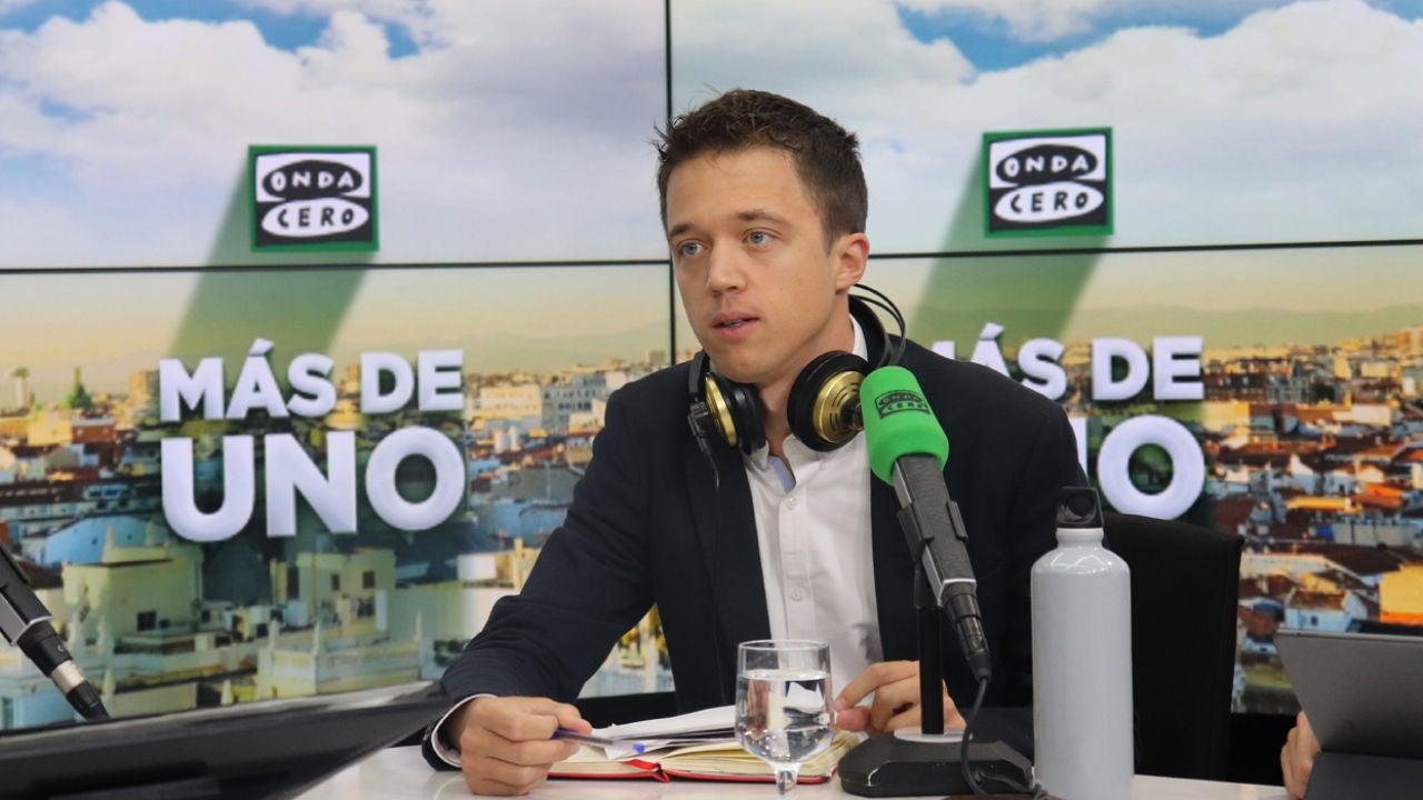 """Íñigo Errejón: """"El acuerdo en Cataluña va a tener que hacerse fuera de Twitter"""""""