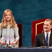 Primer discurso de la Princesa Leonor en Oviedo