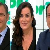Los dres. Guillermo García, Guillermo Reyes y Marta García en Onda Cero