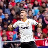 El jugador del Valencia, Gabriel Paulista