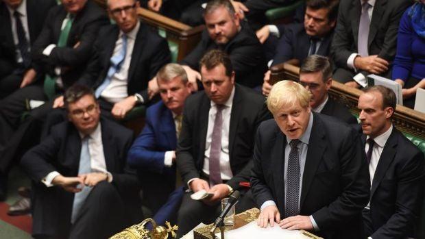 """El Parlamento británico respalda el acuerdo del """"brexit"""" de Johnson"""