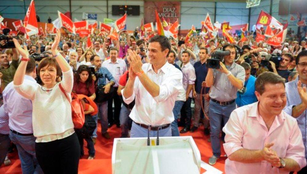 Pedro Sánchez ya estuvo en Alcázar de San Juan en un acto de campaña en mayo de 2.017