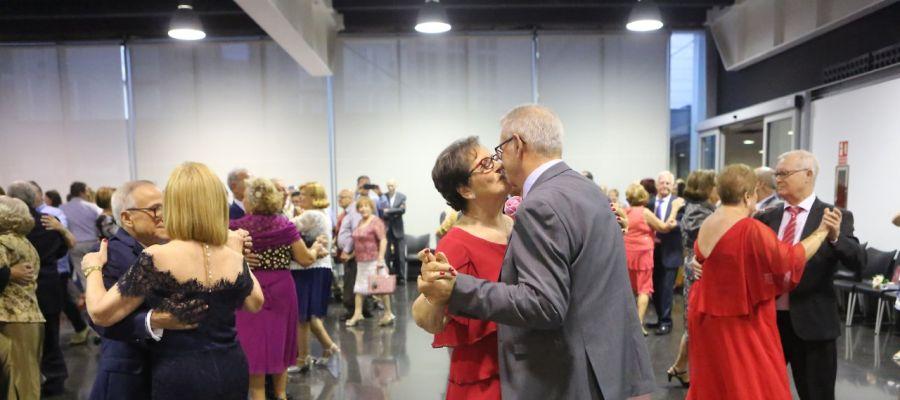 Gala de bodas de oro de 26 parejas en Elche en 2019.
