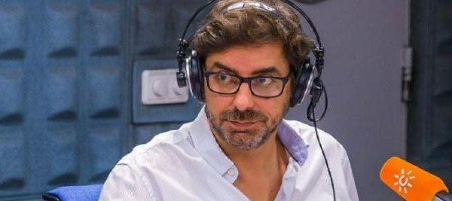El periodista Valentín García