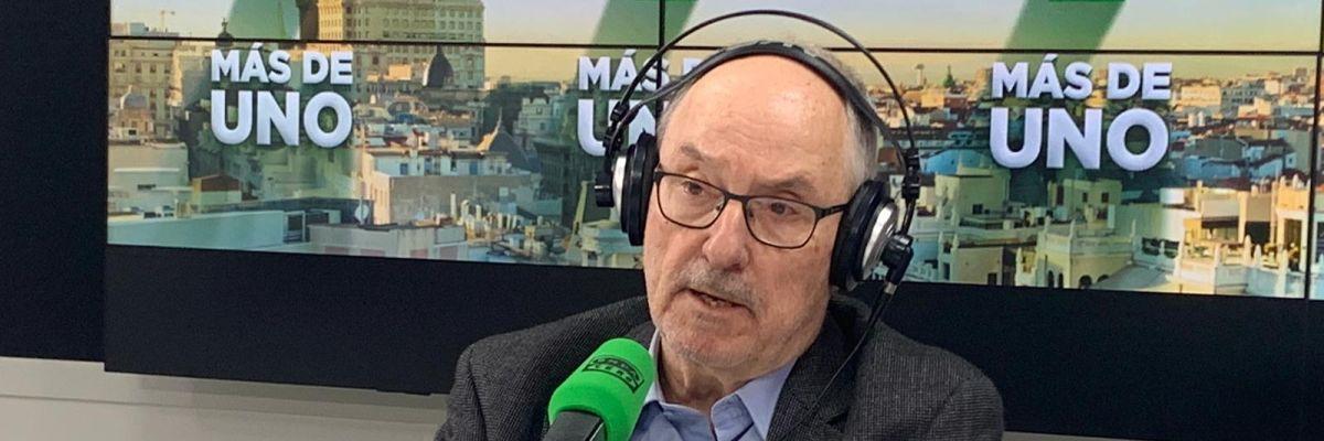 """Rafael Ribó: """"En Cataluña no hay, en primer lugar, un problema de orden público"""""""