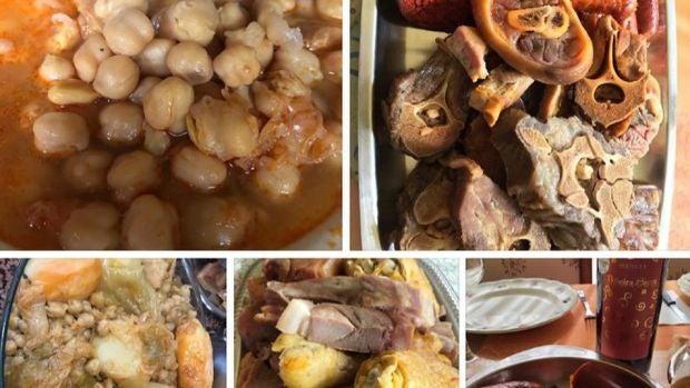 Imagen del cocido gallego que ha sido censurado por Instagram