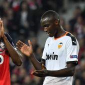 El Valencia empata con el Lille