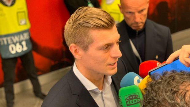 """Kroos: """"Empezamos muy mal esta competición pero esta victoria es importante para estar en octavos"""""""