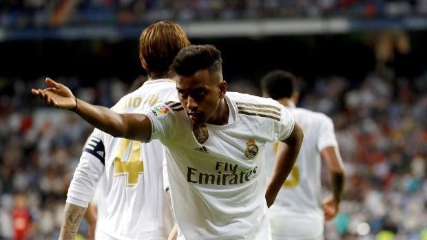 """Rodrygo: """"Tengo la confianza de Zidane y del grupo, el entrenador me da tranquilidad"""""""