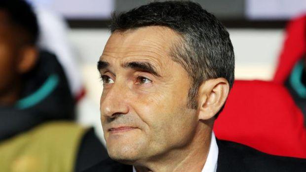 """Ernesto Valverde: """"Nos ha tocado sufrir; en Champions nadie gana fácil"""""""