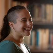 La escritora Cristina Morales, premio Nacional de Literatura en Narrativa