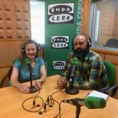 Victoria Rosell, candidata de UNIDAS PODEMOS al Congreso por Las Palmas en los estudios de Onda Cero Las Palmas
