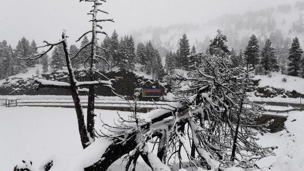 38 provincias en alerta por nieve, lluvia, viento y fuerte oleaje